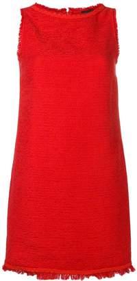 Ermanno Scervino sleeveless tweed dress