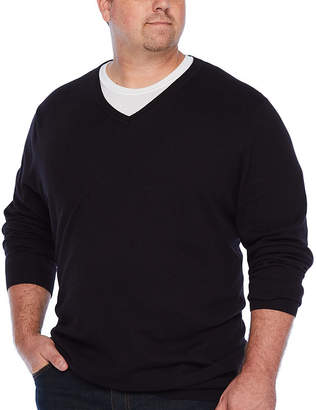 THE FOUNDRY SUPPLY CO. The Foundry Supply Co. V-Neck Sweater - Big & Tall