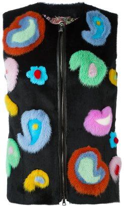 Etro fur detail vest $5,430 thestylecure.com