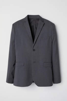 H&M Blazer Slim fit - Gray