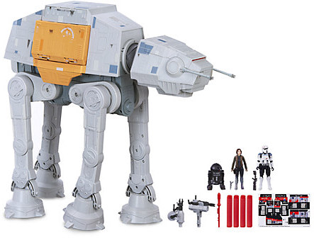 Rogue One: A Star Wars Story Remote Control Rapid Fire Imperial AT-ACT Play Set