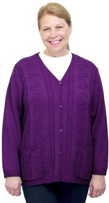 Silverts Disabled Elderly Needs Silverts Adaptive Cardigan Sweater - Disabled Clothing - SMA