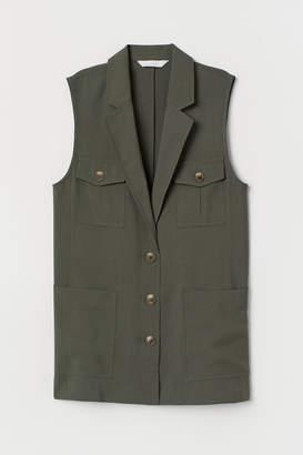 H&M Vest with Collar