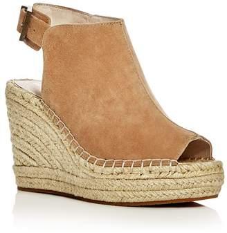 b06a515c3378 Kenneth Cole Olivia Suede Espadrille Wedge Platform Sandals