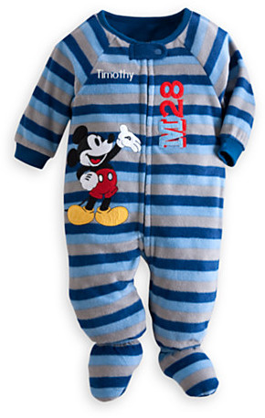 Disney Mickey Mouse Blanket Sleeper for Baby - Personalized