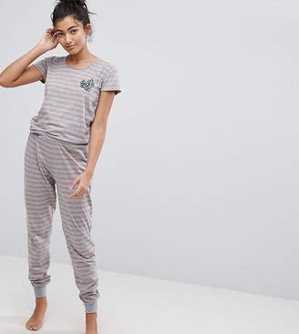 DAY Birger et Mikkelsen Hey Peachy Lazy Stripe Onesie