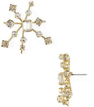 RJ Graziano Starburst Stud Earrings