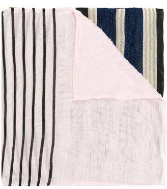 Missoni colour block striped scarf