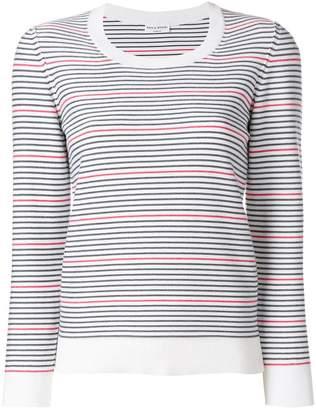 Sonia Rykiel round neck striped jumper