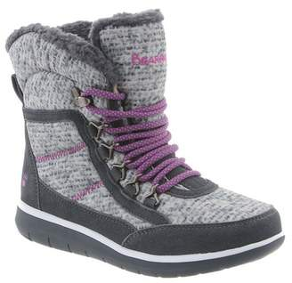 BearPaw Ruby Genuine Sheepskin Footbed Lace Up Boot
