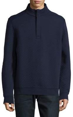 Tommy Bahama Quilt Essential Half-Zip Mockneck Pullover