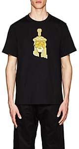 Mostly Heard Rarely Seen 8-Bit Men's Jesus Cotton Jersey T-Shirt - Black