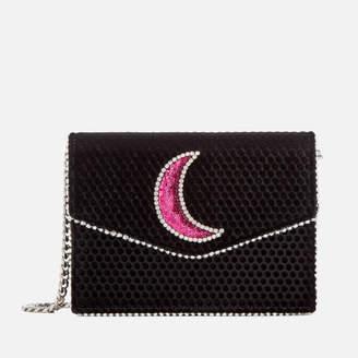 At Mybag Les Pes Joueurs Women S Lulu Disco Moon Bag Black
