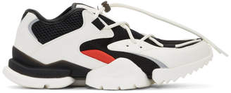 Reebok Classics White and Black Run.r 96 Sneakers