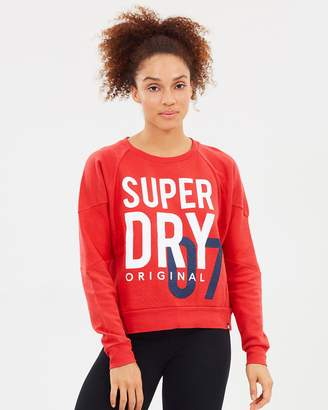 Superdry Dimensional Panelled Crew