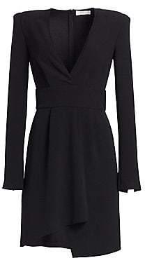 A.L.C. Women's Mara Crepe Asymmetrical Dress - Size 0