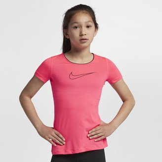 Nike Pro Big Kids' (Girls') Short Sleeve Top