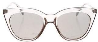 Le Specs Halfmoon Cat-Eye Sunglassess