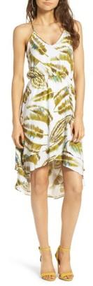 Women's Everly Ruffle Hem Dress $55 thestylecure.com