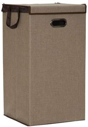 Household Essentials Two-Tone Collapsible Laundry Hamper