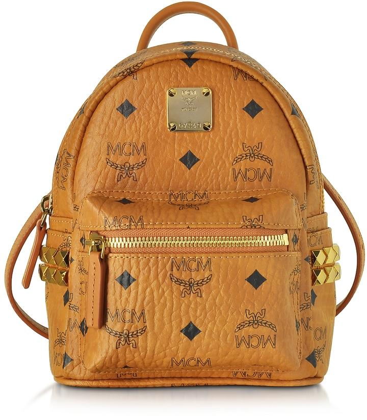 MCM Stark Bebe Boo Cognac XMN Backpack