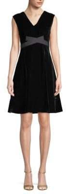 Derek Lam Belted A-Line Dress