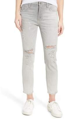 A Gold E AGOLDE Sophie High Waist Skinny Jeans (Portland Destruct)