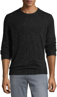 Neiman Marcus Men's Lightweight Donegal Cashmere Crewneck Sweater