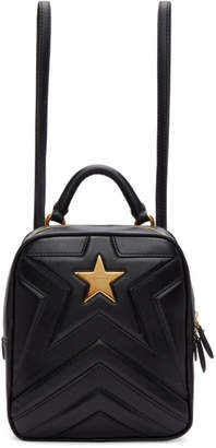 Stella McCartney Black Small Star Backpack