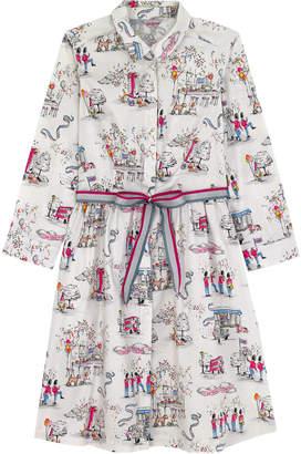 Cath Kidston Birthday Party Cotton Shirt Dress