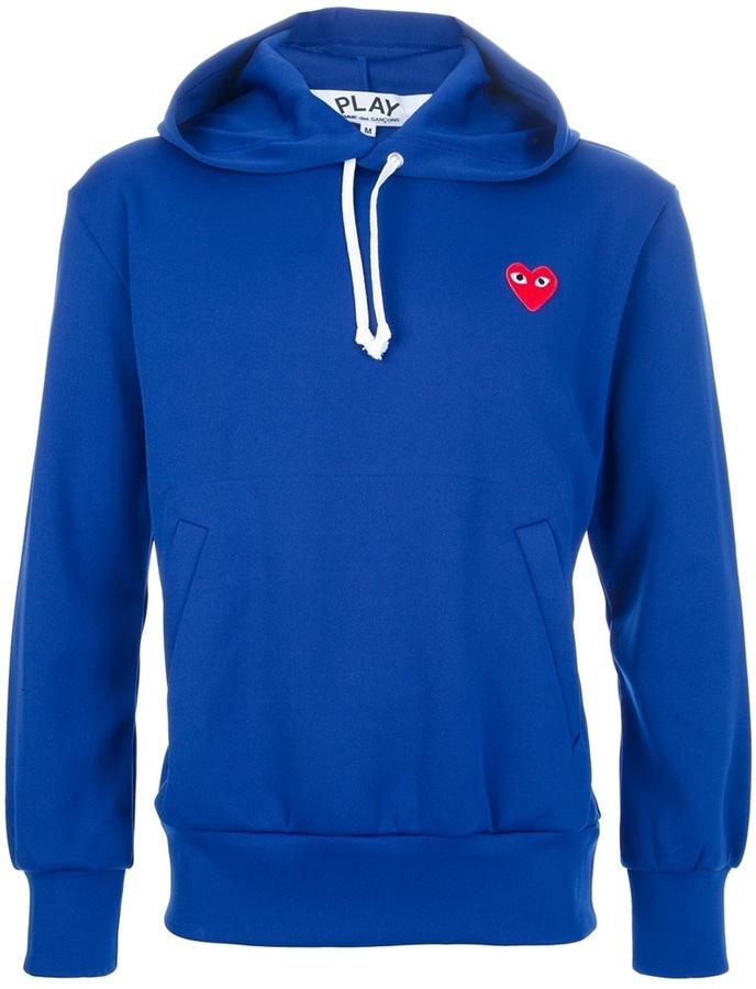 Comme des Garcons hooded logo sweatshirt
