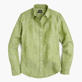 J.Crew Slim perfect shirt in cross-dyed Irish linen