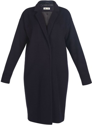 Muza Wool & Cashmere Cocoon Coat