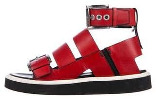 Nicholas Kirkwood x Suno Leather Multistrap Sandals