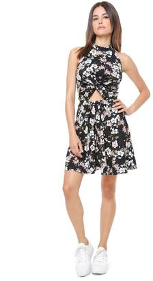 Juicy Couture Route 1 Bloom Cutout Dress