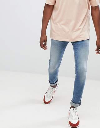 Replay Jondrill skinny jeans light wash