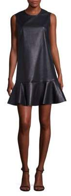 Sheridan Faux Leather Dress