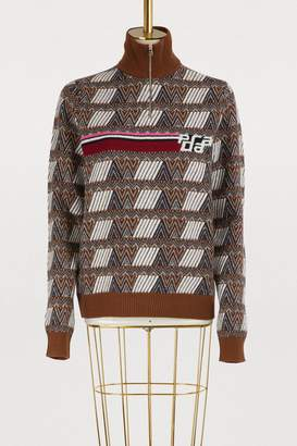 Prada Zipped sweater
