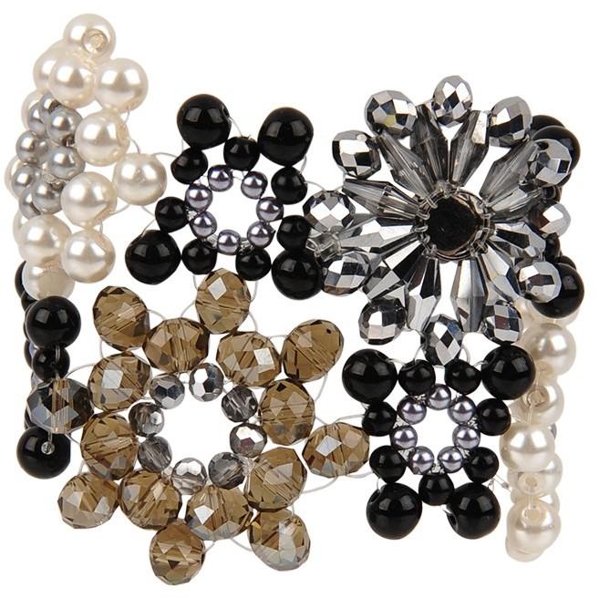 Armitage Avenue Pearl and Floral Bracelet