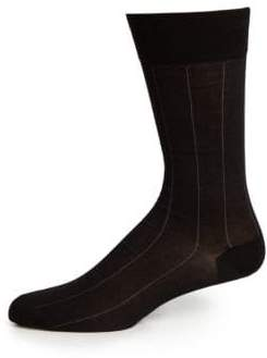 Pima Cotton-Blend Socks