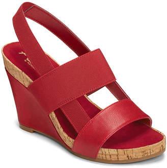 Aerosoles A2 BY A2 by Womens Bone Plush Wedge Sandals