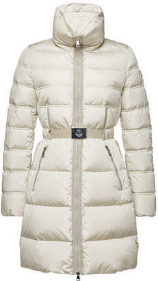 Moncler Accenteur Quilted Down Coat
