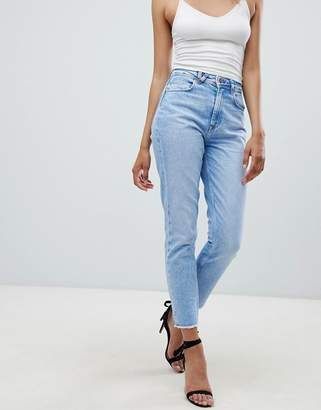 Salsa Rigid Denim Mom Jean