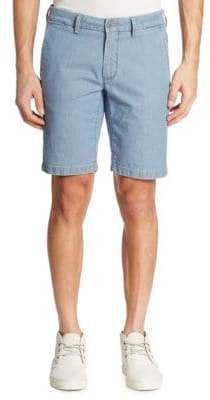 Saks Fifth Avenue COLLECTION Pin Dotted Shorts