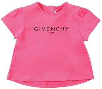 Givenchy SHORT SLEEVE LOGO COTTON T-SHIRT