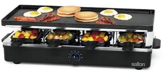 Salton 8 Piece Party Grill and Raclette Set