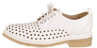 Rag & Bone Perforated Round-Toe Oxfords
