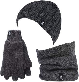 8fc4a261859 Heat Holders - Thermal Winter Fleece Cable knit Hat