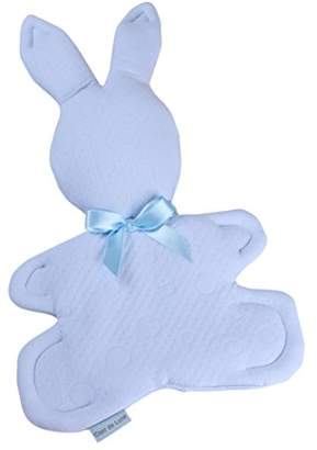 Clair De Lune Mine to Keep Flat Cotton Candy Bunny Comforter(Blue)
