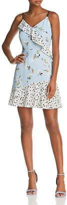 Cooper & Ella Isa Ruffled Slip Dress